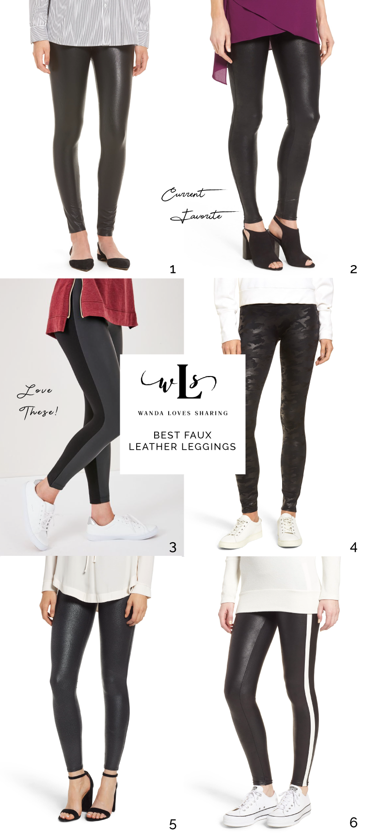 f10cfcd9784cd How to Style Faux Leather Leggings | Wanda Loves Sharing