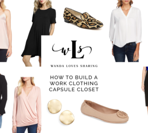 8fcf73861bff6d How To Build A Work Clothing Capsule Wardrobe | Wanda Loves Sharing